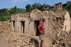 aardbeving  Nepal 1