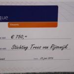 Kiwanis Dongen steunt Stichting Trees van Rijswijk
