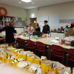 Winterfair heeft 150 tassen voor de Voedselbank opgeleverd!