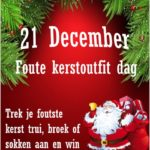 Foute kerstoutfitdag