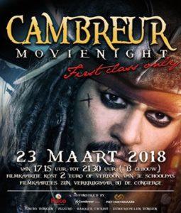 Filmavond 23 maart 2018 Aula Gebouw B