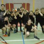 Cambreurtrefbaltoernooi: Tien teams, 100 leerlingen!
