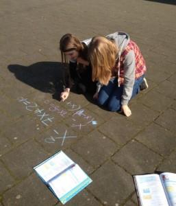 Wiskunde op het schoolplein